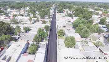 Concluye recarpeteo en la calle Zaragoza [Coahuila] - 12/06/2020 - Periódico Zócalo