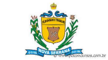 Prefeitura de Nova Serrana - MG divulga inscrições de novo Processo Seletivo - PCI Concursos