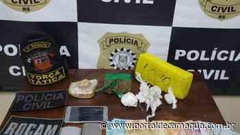 Homem é preso por tráfico de drogas em Santana do Livramento - Portal de Camaquã