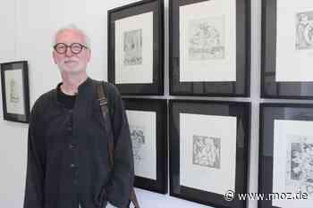 Kultur: Der Neuruppiner Bernd Weimar stellt aus - Märkische Onlinezeitung