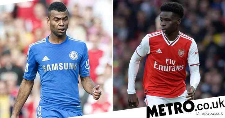 Ian Wright names Bukayo Saka's best position after Ashley Cole comparison