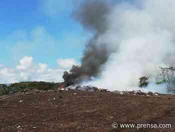 Se incendia el vertedero de Guararé, en Los Santos - La Prensa Panamá