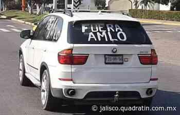 Protestan nuevamente en Puerto Vallarta en contra López Obrador - Quadratín Michoacán