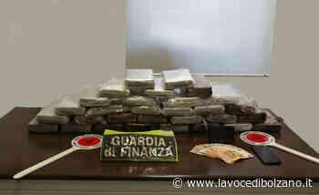 Vipiteno: sequestrati oltre 33 chili di cocaina. Arrestato 53enne italiano - La Voce di Bolzano