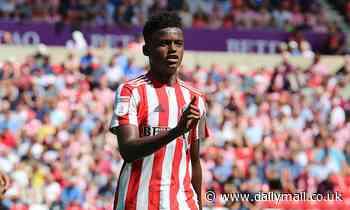 Norwich edging closer to signing Sunderland 18-year-old full back Balu Mumba