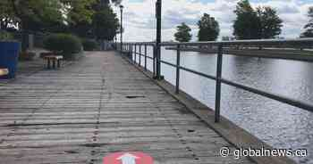 Ste-Anne-de-Bellevue boardwalk to reopen after being shut down for months due to COVID-19 - Globalnews.ca
