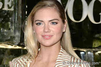 Kate Upton Works Out in Nike Tank Top With Running Shorts & White Sneakers - Footwear News