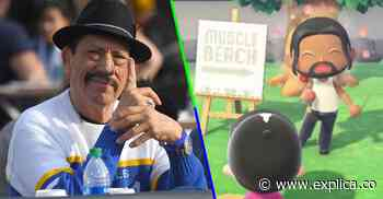 Danny Trejo gives us a walk around his island in 'Animal Crossing' - Explica