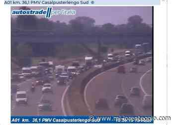 Incidente sull'A1 tra Lodi e Casalpusterlengo - MI-LORENTEGGIO.COM. - Mi-Lorenteggio