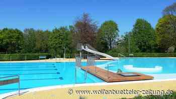 Wasser marsch! Das Freibad am Elm in Hemkenrode eröffnet - Wolfenbütteler Zeitung