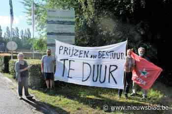 PVDA protesteert tegen verhoogde zitpenningen