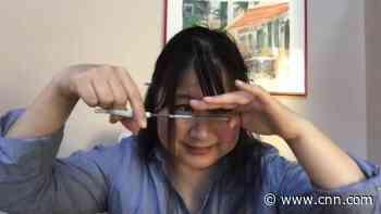 Cutting your own bangs, with Farrah Fawcett's hair stylist - CNN