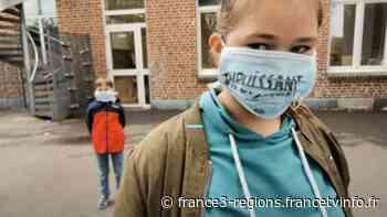 """VIDÉO. Covid-19 : """"Prisonniers pour notre santé"""", des écoliers d'Haubourdin chantent leur ressenti dans - France 3 Régions"""