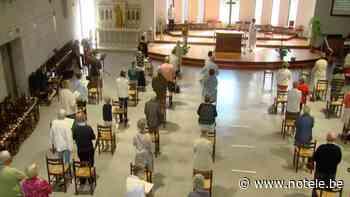 L'église Saint-Etienne de Templeuve a pu de nouveau accueillir ses paroissiens pour la célébration - Notélé