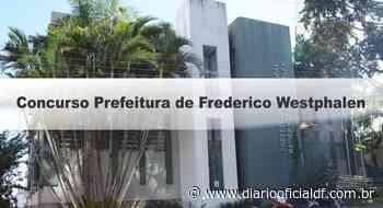 Concurso Prefeitura de Frederico Westphalen RS: Inscrições Encerradas - DIARIO OFICIAL DF - DODF CONCURSOS