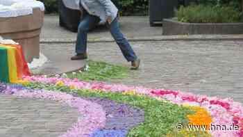 Blumensymbol des Glaubens zu Fronleichnam | Naumburg - HNA.de