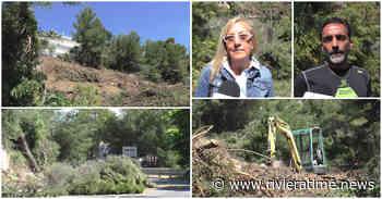 Sopralluogo sulla frana tra Cervo e Andora: ancora una settimana di lavori per il posizionamento delle barriere in blocchi di cemento - Riviera Time