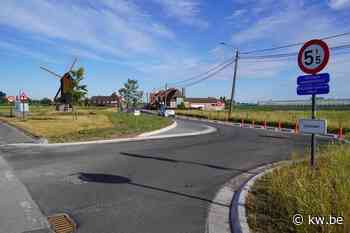 Veldstraat in Meulebeke opnieuw open voor alle verkeer - Krant van Westvlaanderen