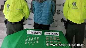 En Villamaría capturaron a un hombre que distribuía droga en la zona rural - BC Noticias