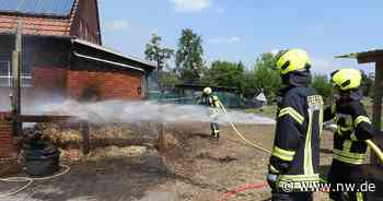 Feuerwehr löscht Wohnhaus mit Stallung in Herzebrock-Clarholz - Neue Westfälische