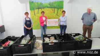Ein Herz für die Tafel in Spelle: Spende übergeben - noz.de - Neue Osnabrücker Zeitung