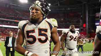 """Ed Donatell says Bradley Chubb is """"full speed and ready to go"""""""