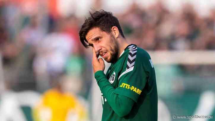 Ahmet Arslan vom VfB Lübeck zu Holstein KIel - Sportbuzzer