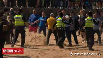 Scuffle breaks out at Cleethorpes Black Lives Matter protest