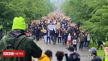 Thousand people join Huddersfield Black Lives Matter protest