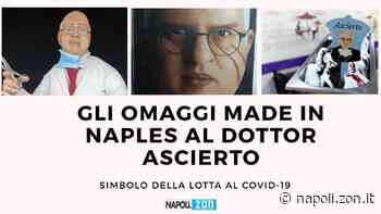"""Dalla statuetta sul presepe al """"gusto Ascierto"""" , gli omaggi made in Naples all'oncologo partenopeo simbolo della lotta al Covid-19 - Napoli.zon"""