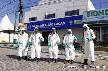 Igarassu recebe, diariamente , higienização nas ruas - Blog da Folha - Folha - Folha de Pernambuco