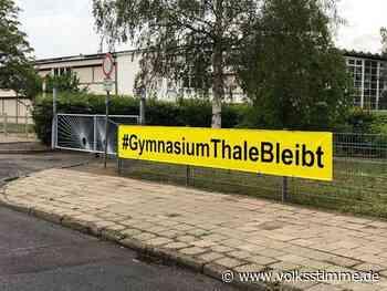 Debatte Gymnasium in Thale ist gerettet - Volksstimme