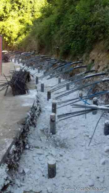 Sp 15 Calcinaia: ripresi i lavori dopo lo stop per l'emergenza Covid-19 - La Voce Apuana