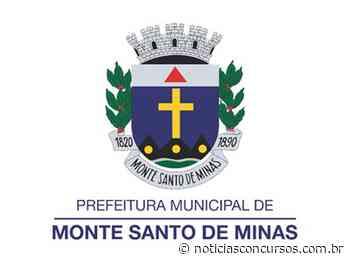 Processo seletivo Prefeitura de Monte Santo de Minas MG tem inscrições até hoje, 15! - Notícias Concursos