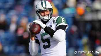 New York Jets: Ex-Quarterback will Pitcher beim Baseball werden - RAN