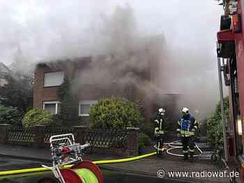 Feuer in einem Mehrfamilienhaus in Sassenberg - Radio WAF