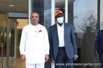 Obaseki, Udom Emmanuel meet in Uyo - P.M. News