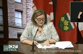 Province says COVID-19 data encouraging - mykemptvillenow.com