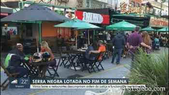 Coronavírus: bares e restaurantes de Serra Negra descumprem regras do Plano São Paulo e reabrem aos clientes - G1