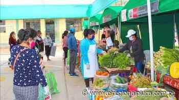 Sullana: mercado Minagri 'De la chacra a la olla' llega a Querecotillo - El Regional