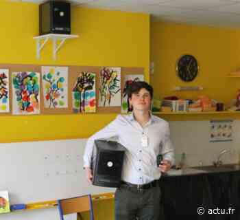 Saint-Thibault-des-Vignes. L'air de l'école purifié grâce à une technologie basée sur les recherches de la Nasa - actu.fr