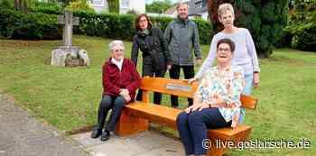 Ruhebank auf Friedhof aufgestellt | Liebenburg - GZ Live