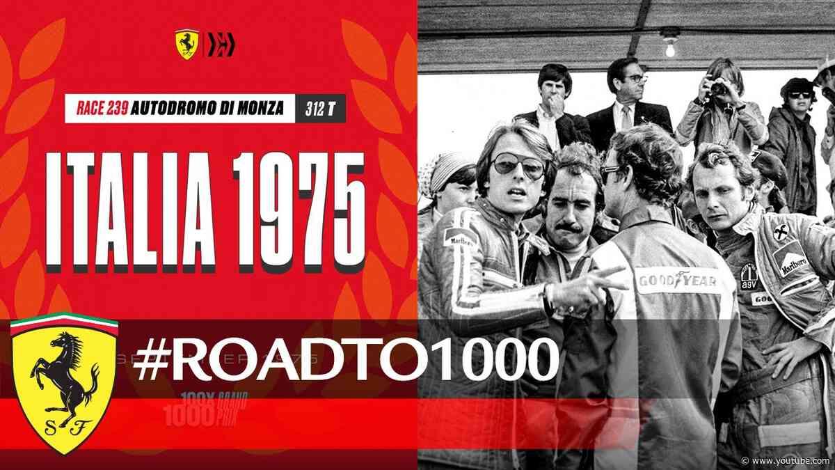 #RoadTo1000 - Italian GP 1975