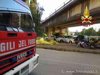 Montelupo Fiorentino: verifica campate cemento SS Tosco romagnola da parte dei Vigili del fuoco e Anas - Firenze Post