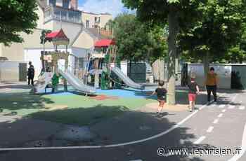A La Garenne-Colombes, les cours de récré sont ouvertes... même le week-end - Le Parisien