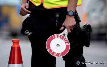 Polizei: Spritztour mit Drogen und falschen Kennzeichen endet in Hoppegarten - Märkische Onlinezeitung