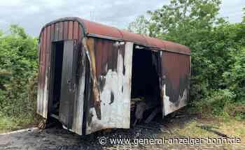 Rheinbach: Bauwagen nach Feuer zerstört - General-Anzeiger