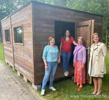 Bewoners WZC Parkhof krijgen bezoek in babbelbox
