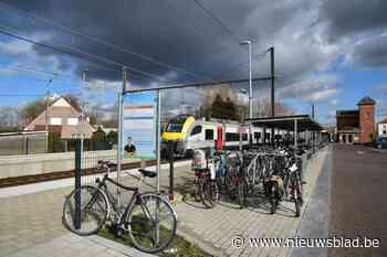 Station Heizijde krijgt nieuwe fietsenstalling (Lebbeke) - Het Nieuwsblad