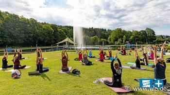 Hilchenbach: Outdoor-Yoga-Stunde im Naturfreibad Müsen - WP News